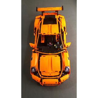ポルシェ(Porsche)のポルシェgt3rsレゴ 互換品 完成品(積み木/ブロック)