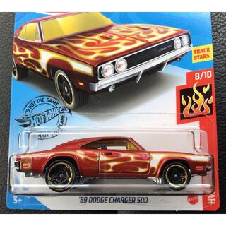 シボレー(Chevrolet)のホットウィール '69 CHARGER 500 ダッジ チャージャー レッド 赤(ミニカー)