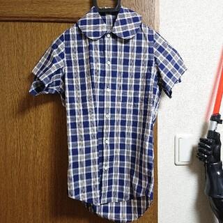 コムデギャルソン(COMME des GARCONS)のジュンヤワタナベ コムデギャルソン 丸襟シャツ 半袖シャツ(シャツ/ブラウス(半袖/袖なし))