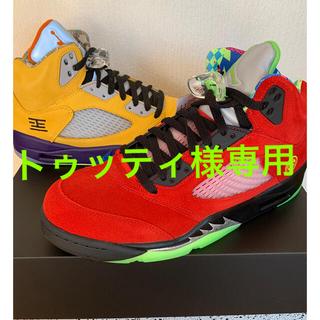 ナイキ(NIKE)のトゥッティ様専用 Nike AIR JORDAN 5 RETRO SE 9.5(スニーカー)