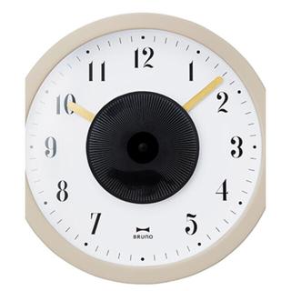 イデアインターナショナル(I.D.E.A international)のBRUNO 掛け時計 🕒掛ける、🕰置く2通りできます。(掛時計/柱時計)