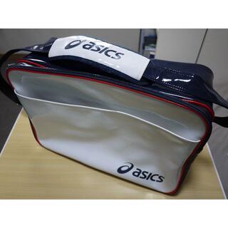 アシックス(asics)のasics エナメルスポーツバッグ(肩ひも付き)(ショルダーバッグ)