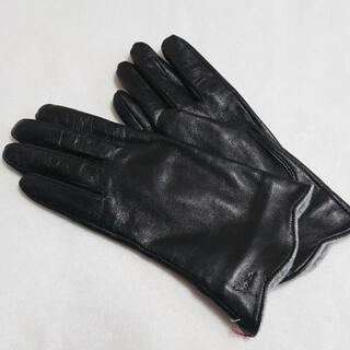 シビラ(Sybilla)の新品 シビラ sybilla 手袋 レザー ブラック ①(手袋)