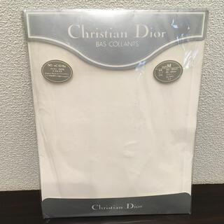 クリスチャンディオール(Christian Dior)のChristian Dior ストッキング(白無地)(タイツ/ストッキング)