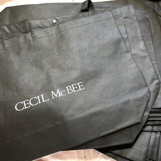 セシルマクビー(CECIL McBEE)のCECIL McBEE☆新品☆ショッパー☆20枚セット☆大サイズ☆(ショップ袋)