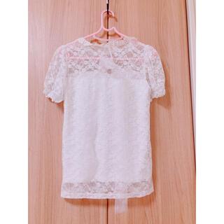 マーズ(MA*RS)のMARS ♡ フリルホワイトシャツ 最終日(シャツ/ブラウス(半袖/袖なし))