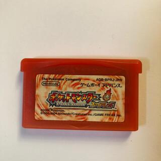 ゲームボーイアドバンス(ゲームボーイアドバンス)のポケットモンスター ファイアレッド(携帯用ゲームソフト)