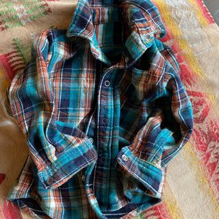 ギャップ(GAP)のGAP コットン チェックシャツ 90cm(その他)