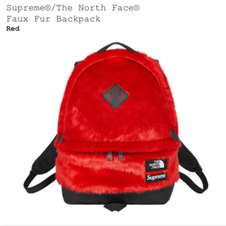 シュプリーム(Supreme)のsupreme×The North Face Faux Fur Backpack(バッグパック/リュック)