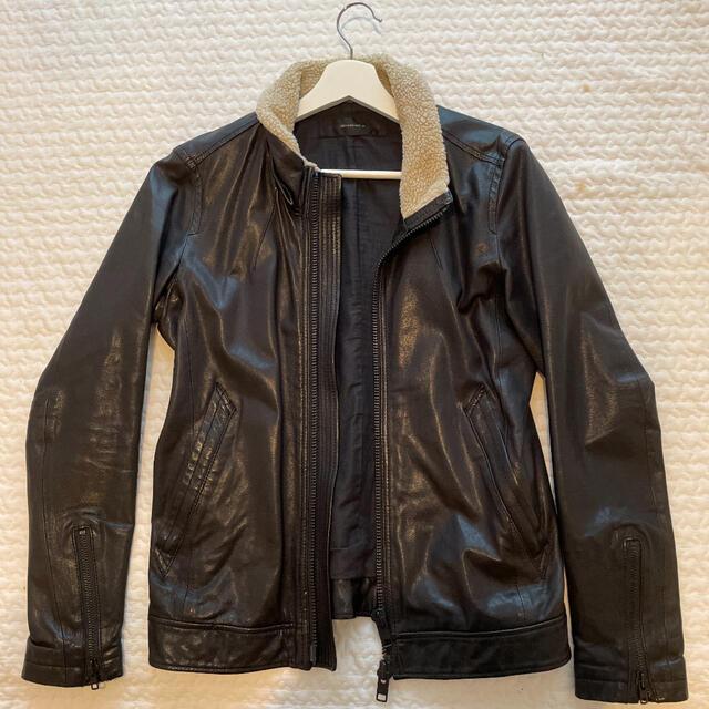 AMERICAN RAG CIE(アメリカンラグシー)のアメリカンラグシーのレザージャケット メンズのジャケット/アウター(レザージャケット)の商品写真