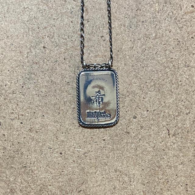 amp japan(アンプジャパン)のMARQUEE マーキー  マリア ネックレス チバユウスケ メンズのアクセサリー(ネックレス)の商品写真