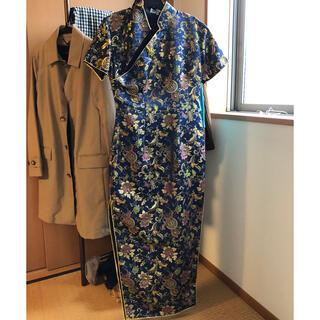 台湾製 オーダーメイド チャイナドレス Sサイズ(その他ドレス)