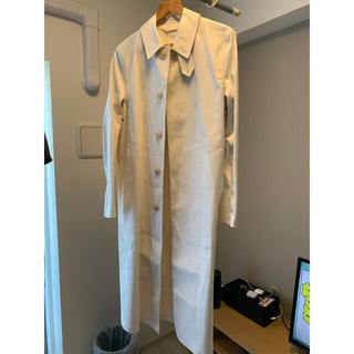 マルタンマルジェラ(Maison Martin Margiela)のMaison Margiela × MACKINTOSH オフホワイトコート(チェスターコート)