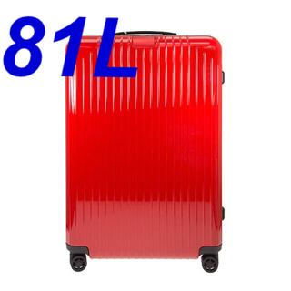 リモワ(RIMOWA)のリモワ RIMOWA 82373654 キャリーバック レッド 81L(旅行用品)