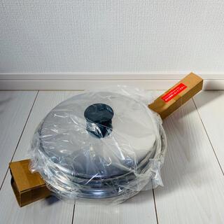 アムウェイ(Amway)の◇◆新品未使用◆◇ アムウェイ クイーン 大フライパン 鍋 匿名配送(鍋/フライパン)