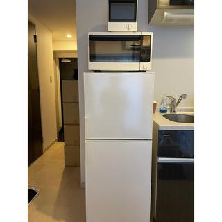 ムジルシリョウヒン(MUJI (無印良品))の無印 冷蔵庫 オープンレンジ トースター 3点セット(冷蔵庫)