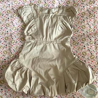 スナイデル(snidel)の【新品タグ付】スナイデルガール ドレス バルーンワンピース 120(ワンピース)