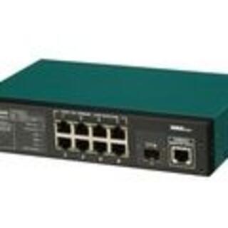 パナソニック(Panasonic)の8ポート L2スイッチングハブ(Giga対応) Switch-M8eG PN28(その他)