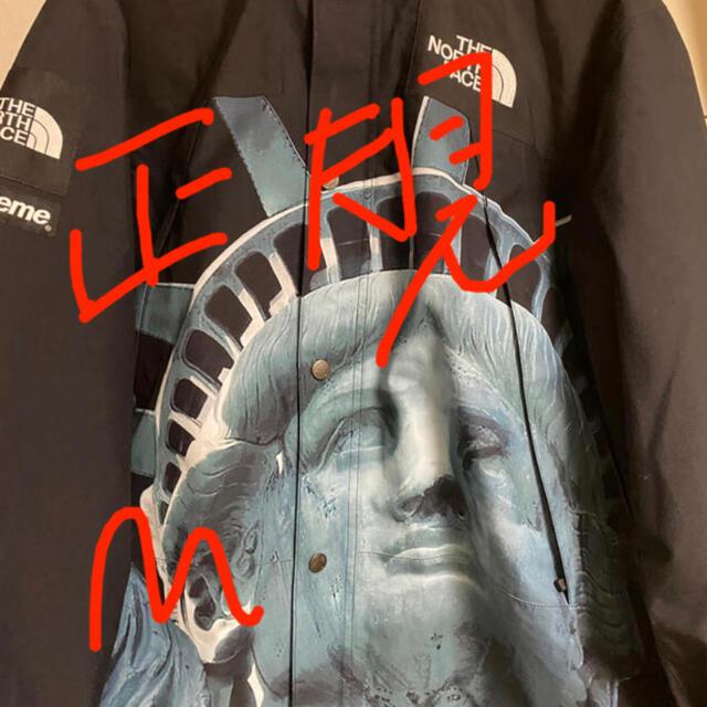Supreme(シュプリーム)のsupreme north face 自由の女神 1〜2日発送 メンズのジャケット/アウター(マウンテンパーカー)の商品写真