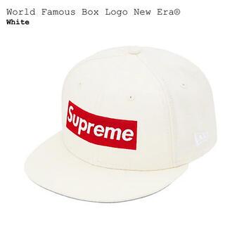 シュプリーム(Supreme)のSupreme World Famous Box Logo New Era®(キャップ)