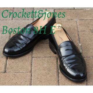 クロケットアンドジョーンズ(Crockett&Jones)のクロケット&ジョーンズボストン8ハーフE#314ユニオンワークス取扱製品(ドレス/ビジネス)