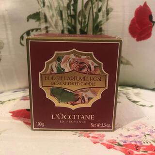 ロクシタン(L'OCCITANE)のロクシタン ローズ センティッドキャンドル(キャンドル)