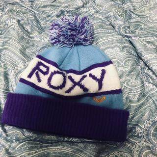 Roxy - ROXY ロキシー ポンポン付き ニット帽 ビーニー スノボ スキー ウェア