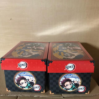 タカラトミー(Takara Tomy)の鬼滅の刃お菓子 漫画ケース 収納BOX収納ボックス 2箱セット(その他)