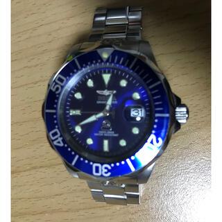 セイコー(SEIKO)のインビクタ グランドダイバー 300m SEIKO NH35 自動巻 スキューバ(腕時計(アナログ))