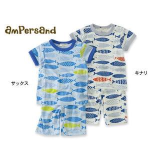 アンパサンド(ampersand)のampersand アンパサンド 半袖パジャマ 上下セット(Tシャツ)