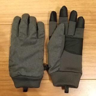 ユニクロ(UNIQLO)のキッズ★ユニクロ★M/Lサイズ グレー 手袋(手袋)