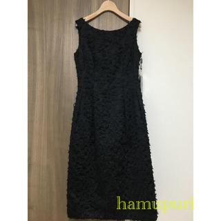 ルネ(René)のルネ ドレス ワンピース 34サイズ イギリス製生地(ロングワンピース/マキシワンピース)