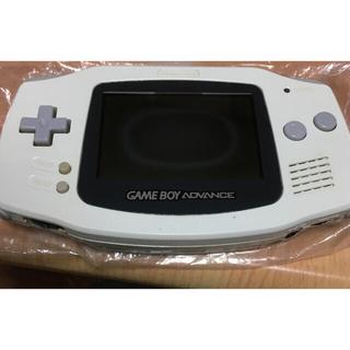 ゲームボーイアドバンス(ゲームボーイアドバンス)の専用 ジャンク ゲームボーイアドバンス 白(携帯用ゲーム機本体)