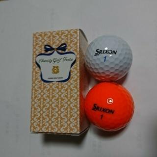 スリクソン(Srixon)のスリクソン ゴルフボール4個 (チャリティフェスタ)(ゴルフ)