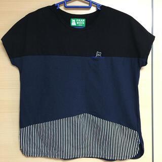 フラボア(FRAPBOIS)のクマパッチT(Tシャツ(半袖/袖なし))