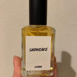 ラッシュ(LUSH)のLUSHスノーケーキパフューム限定品(香水(女性用))