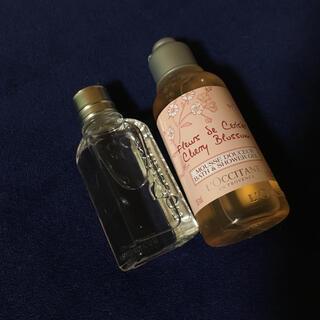 ロクシタン(L'OCCITANE)のロクシタン チェリーブロッサム ミニシャワージェル香水セット(香水(女性用))