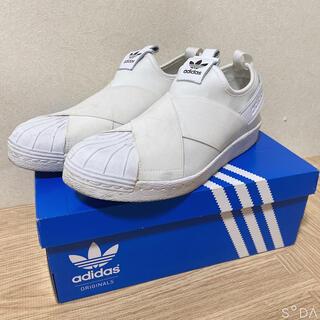 アディダス(adidas)の☆ adidas Superstar Slip-On White (W)(スリッポン/モカシン)