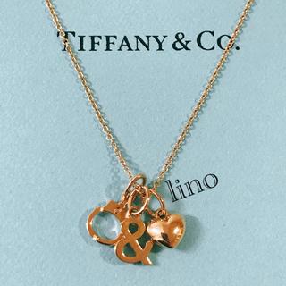 ティファニー(Tiffany & Co.)の美品 ティファニー Tiffany ノーティ&ナイス ネックレス K18YG(ネックレス)