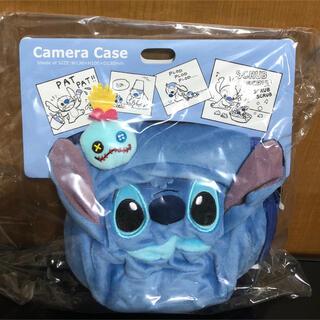ディズニー(Disney)のDisney スティッチ&スクランプ ぬいぐるみ風 カメラケース(ケース/バッグ)