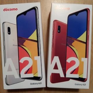 ギャラクシー(Galaxy)のdocomo Galaxy A21 64GB  新品未使用(携帯電話本体)