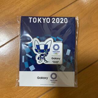 ギャラクシー(Galaxy)のTokyo2020ピンバッジ(バッジ/ピンバッジ)