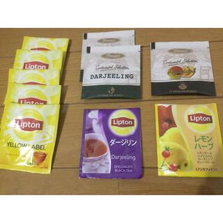 リプトンとプレミアスティー 紅茶ティーバッグ 10個セット(茶)