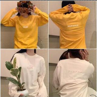 あいみょん グッズ HONEYLADYBABY 2018 ロンT  Tシャツ M(ミュージシャン)