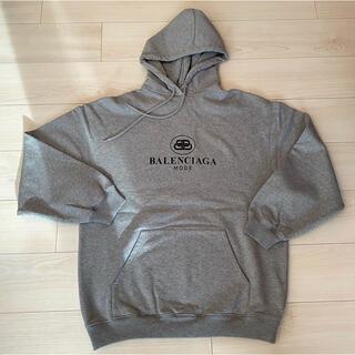 バレンシアガ(Balenciaga)のバレンシアガ ロゴ トレーナー フード スウェット パーカー(トレーナー/スウェット)