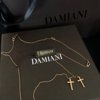 ダミアーニ(Damiani)の新品 ダミアーニ ピンクゴールド メトロポリタンドリーム ダブルクロスネックレス(ネックレス)