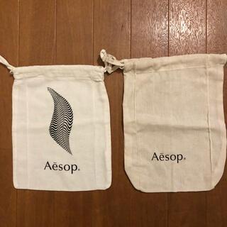 イソップ(Aesop)の【Aesop】非売品ポーチ(定番1、季節限定1)2種セット(ポーチ)