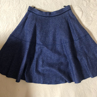 ランバンオンブルー(LANVIN en Bleu)のランバン スカート(ミニスカート)