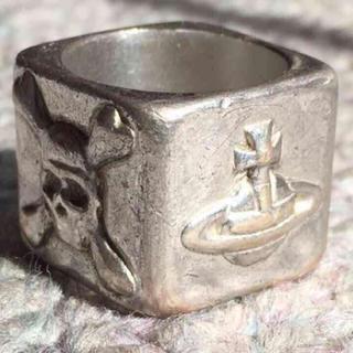 ヴィヴィアンウエストウッド(Vivienne Westwood)のスクエアリング(リング(指輪))