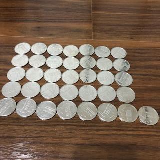 ラウンドワン(round1)ポリッシャーコイン37枚(ボウリング場)